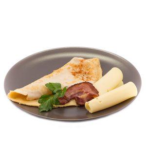 Proteínová slaninovo-syrová omeleta (25 g)