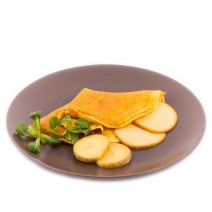 Proteínová zemiakovo-syrová omeleta (27 g)