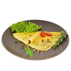 proteínové omelety