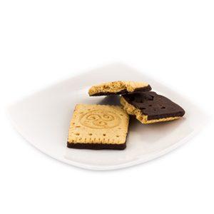 Proteínová maslová sušienka s čokoládovo-kokosovou príchuťou (28 g)