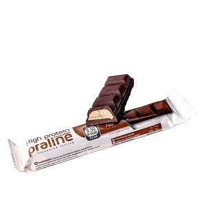 Proteínová čokoláda s pralinkovo-orieškovou náplňou (35 g)