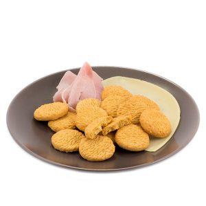 Proteínový snack so šunkovo-syrovou príchuťou (50 g)