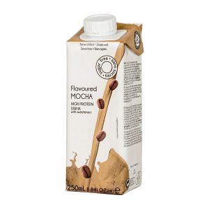 Proteínový nápoj moka káva UHT 250 ml