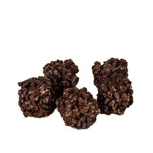 Proteínové bonbóny v tmavej čokoláde (24g)