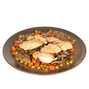 Kura na zelenine (270 g)